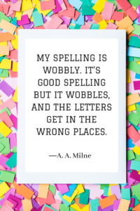 Quotes about Writing a.a. milne