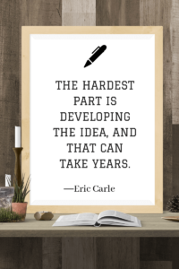 Quotes about Writing eric carle