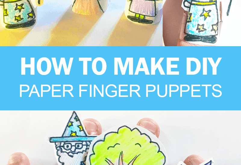 How to Make Finger Puppets