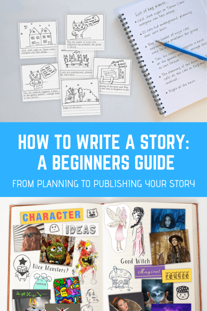 how to write a story for kids stepbystep guide