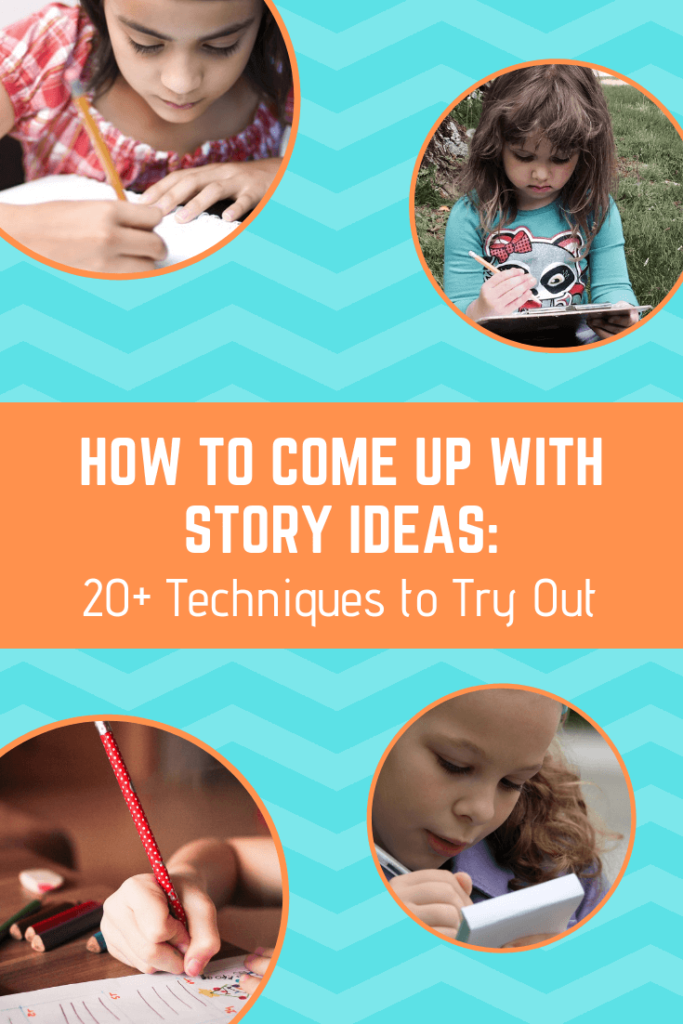 how to come up with story ideas
