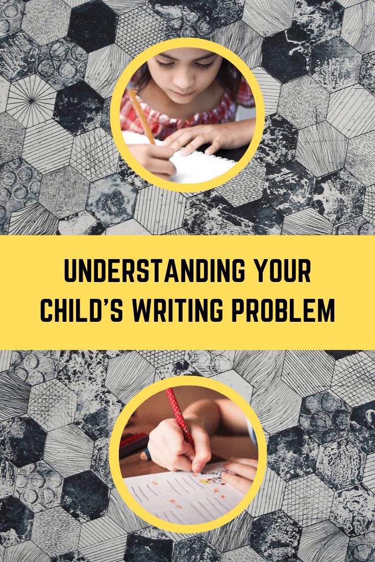 了解孩子的写作问题