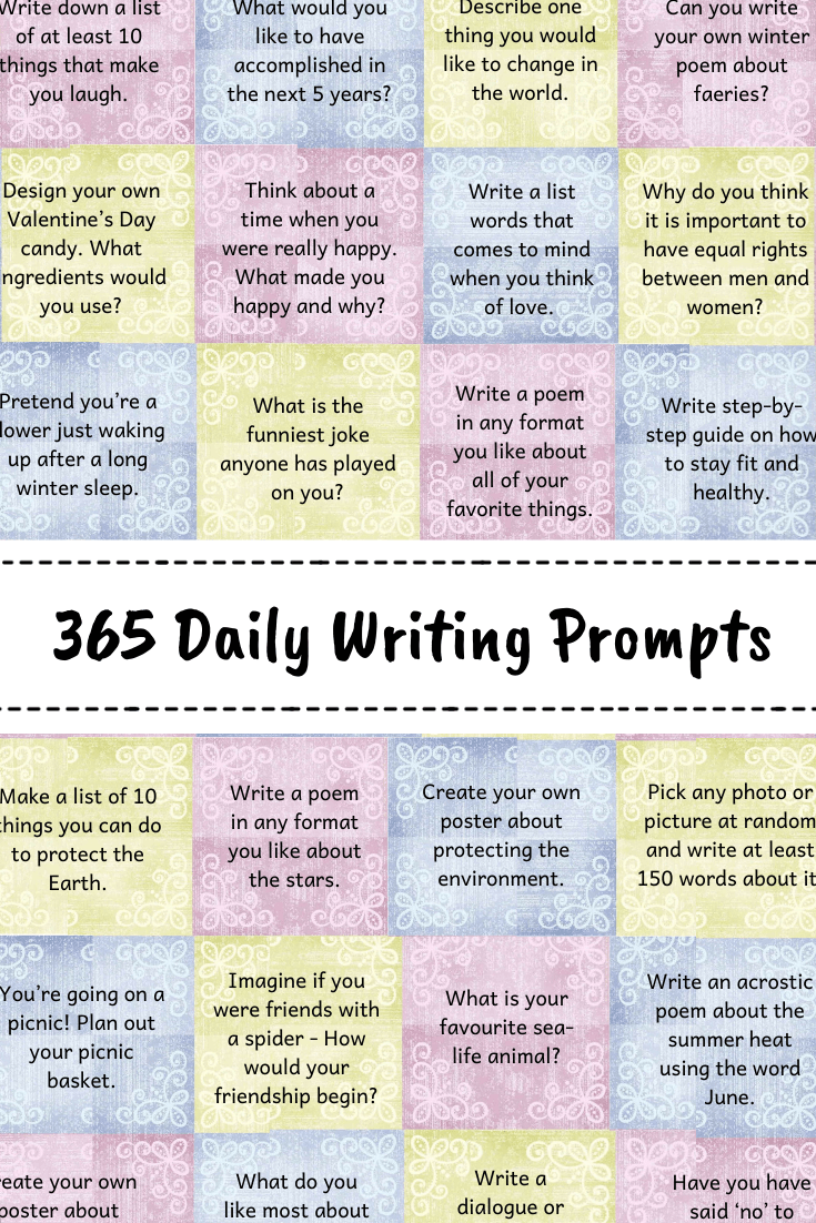 365 Daily Writing Prompts