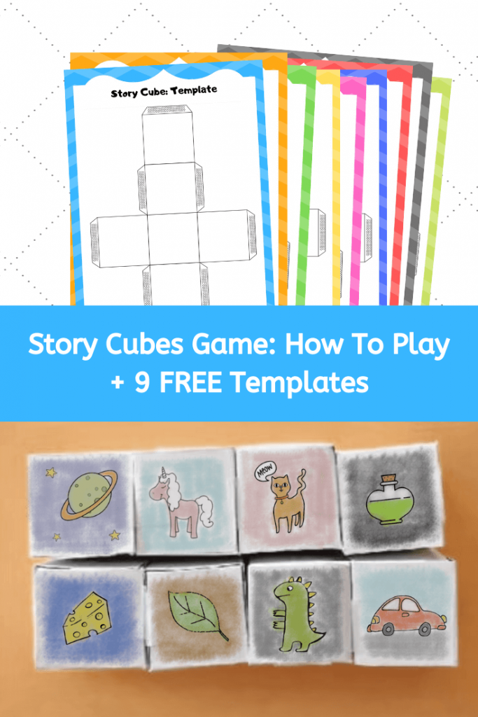 story cube game free templates