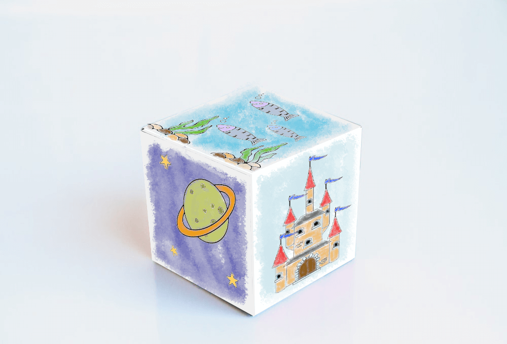 story cube for kids complete