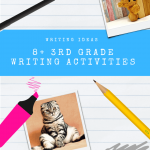 3rd Grade Writing Activities