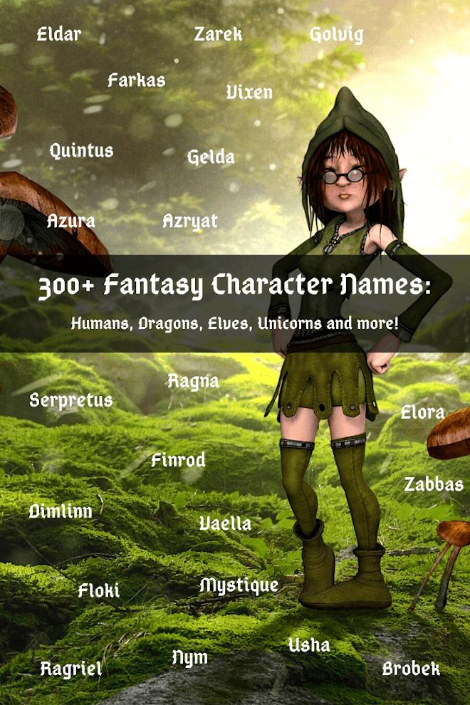 Fantasy Name Generator 330 Fantasy Names Imagine Forest Blog