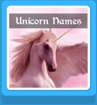 unicorn names generator button
