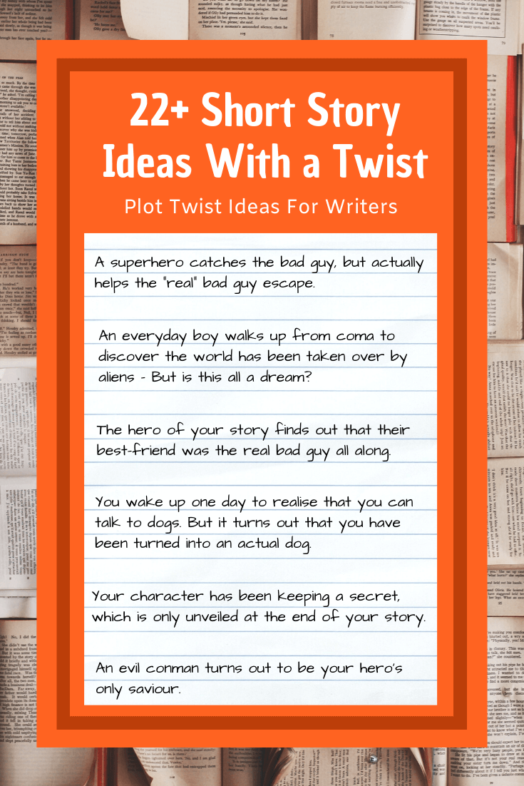 22 Short Story Ideas With A Twist Imagine Forest