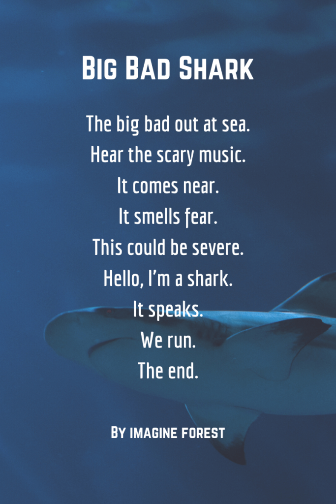 Shark poems funny - shark poems