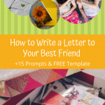 Write a Letter to Your Best Friend prompts