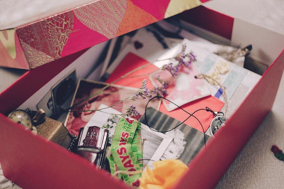 открытки оптом воспоминания в коробочке фото тем как