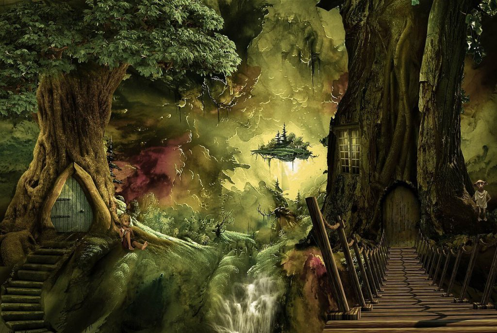 writing prompts for kids - enchanted forest