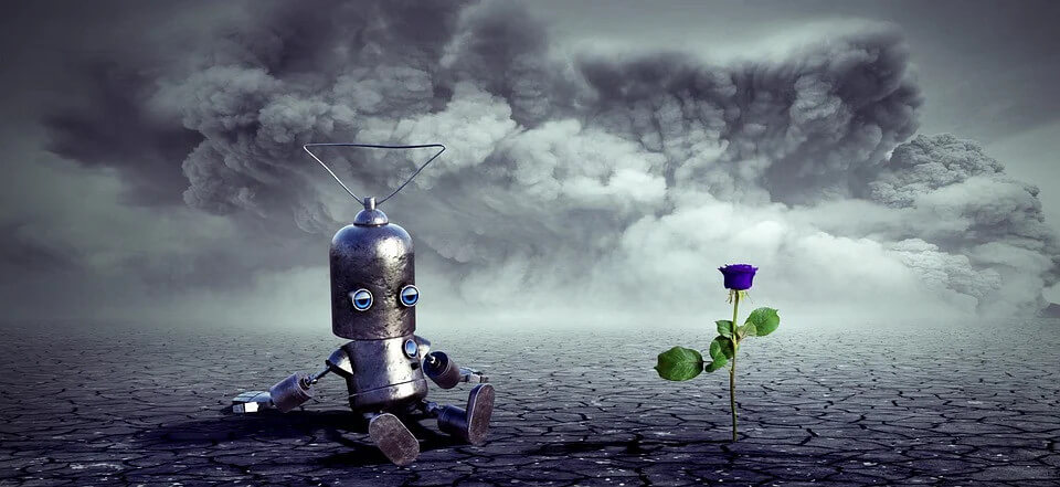 writing prompts for kids - lost robot