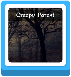 creepy forest name ideas
