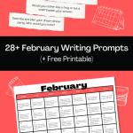 28 February Writing Prompts