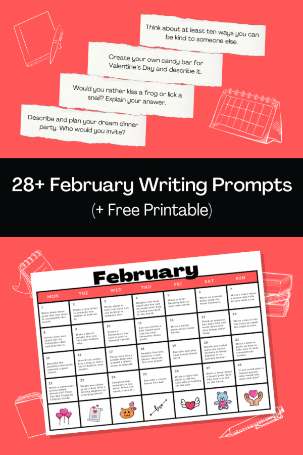 28 February Writing Prompts