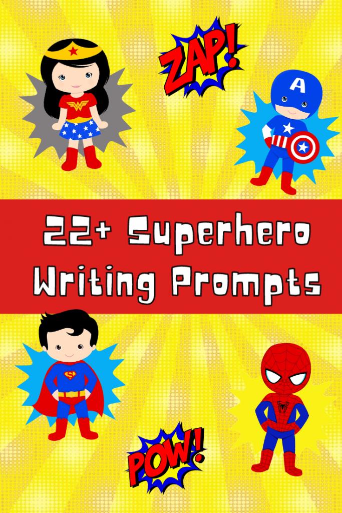 超级英雄写作提示