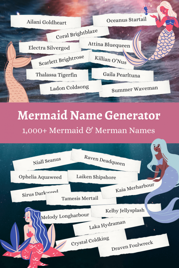 Mermaid Names