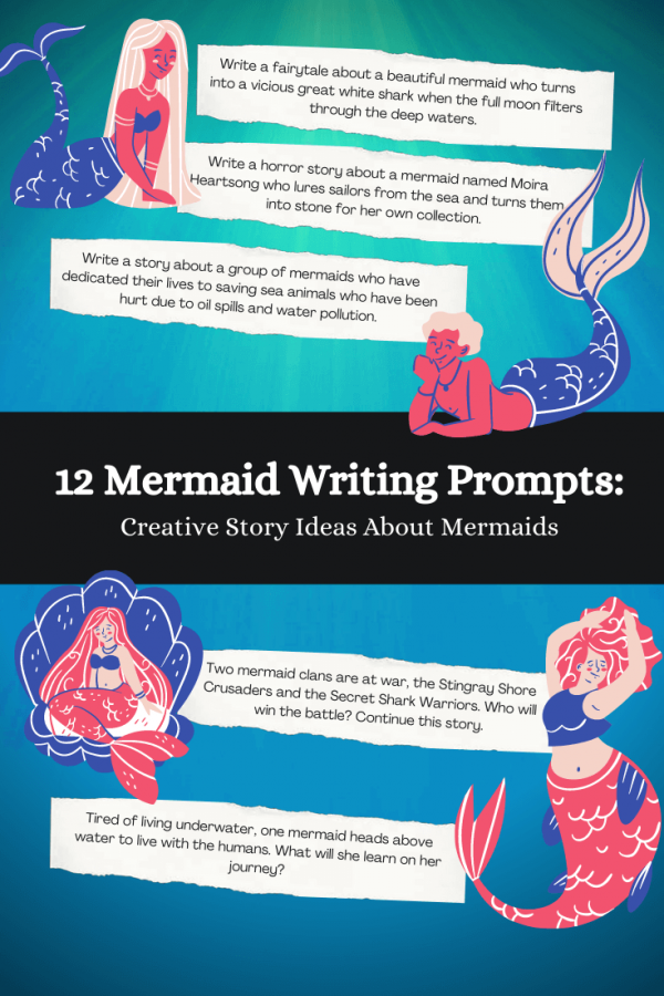 Mermaid writing prompts