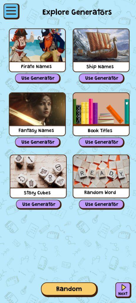 idea generator app