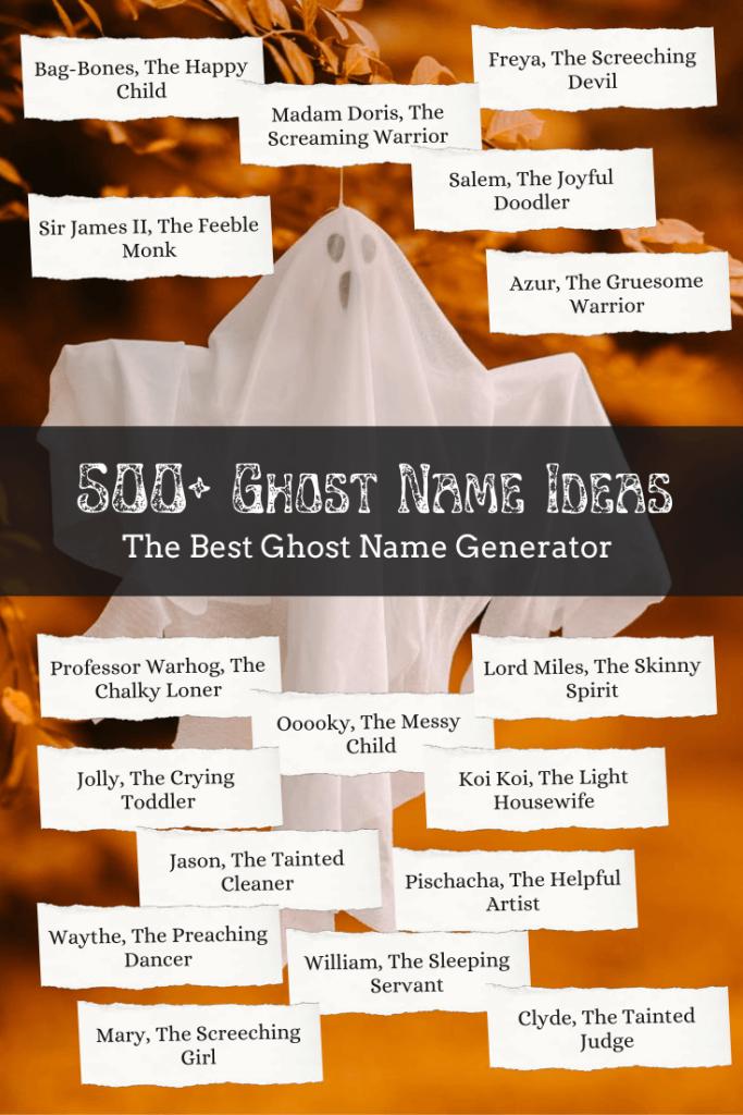 Ghost name generator