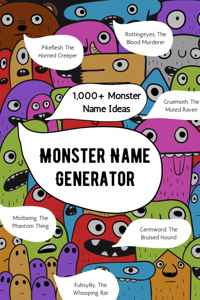 monster name generator