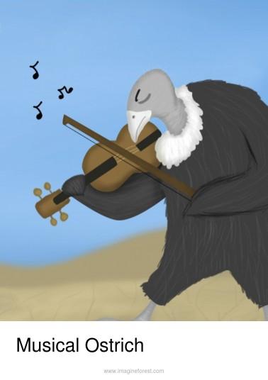 Musical Ostrich