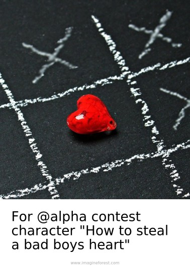 """For @alpha contest character """"How to steal a bad boys heart"""""""